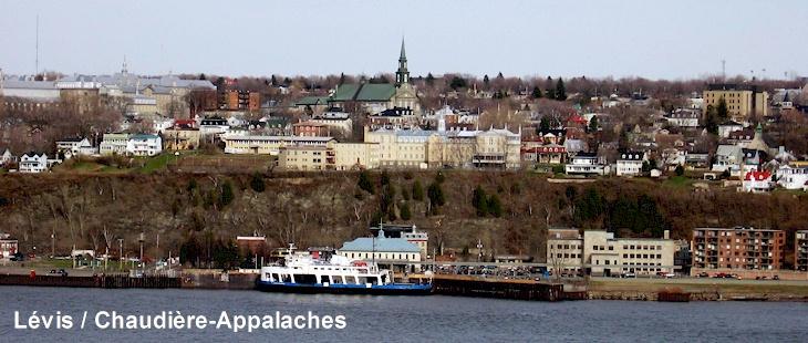 Canada – Un voyage de Québec vers la Gaspésie a travers les paroisses au 19 eme siècle Image-levis